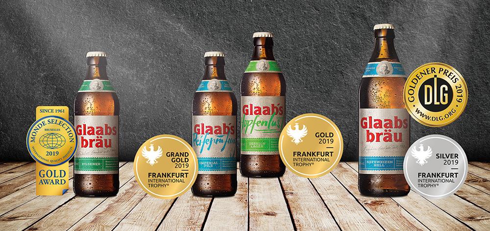 Glaabsbräu Erfreut Sich Hoher Auszeichnungen Für Ihre Biere