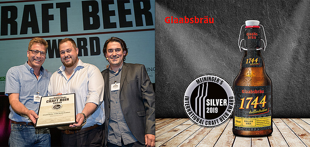 Silbermedaille Vom Meininger´s International Craft Beer Award 2019