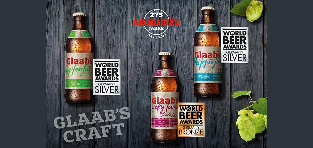Glaabsbräu Erhält Hohe Auszeichnungen Beim World Beer Award 2019