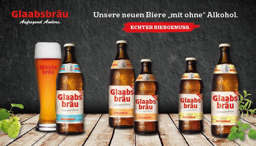 Glaabsbräu Bringt Neue Alkoholfreie Biere Auf Den Markt